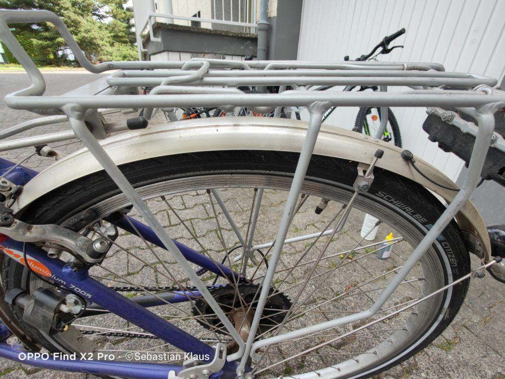 Ausganssituation: Bike Cleaner Pro Test URBAN FOREST